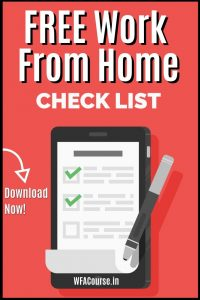 FREE Work-From-Home Checklist