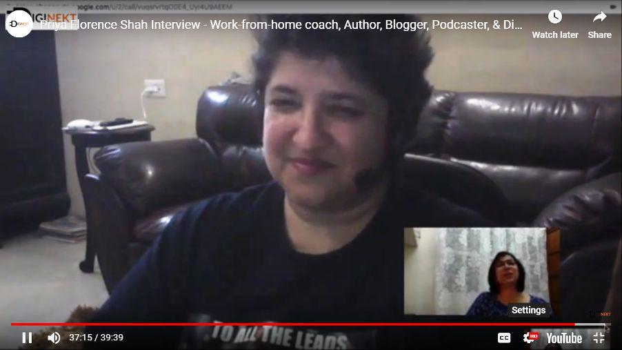 Priya Florence Shah Interview