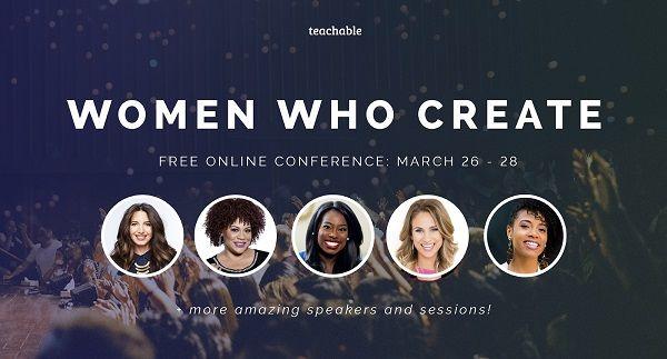 Women Who Create Banner