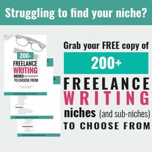 Freelance Writer Course